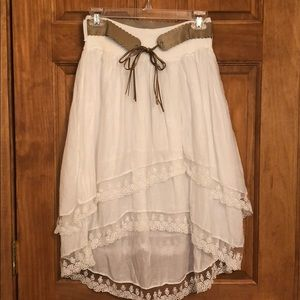 Dresses & Skirts - Hi-Low Skirt